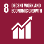 8 Decent work and economic groth