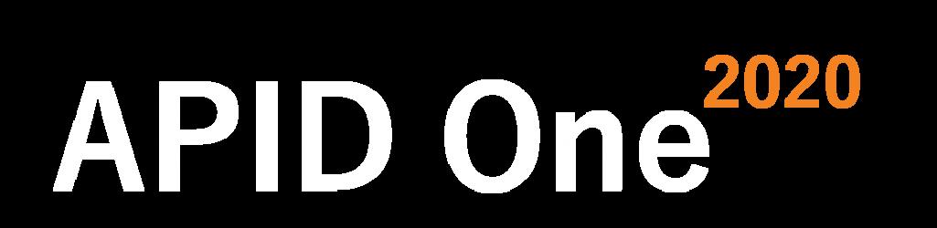 Apid One 2020_orange